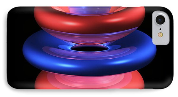 5gz4 Electron Orbital Phone Case by Dr Mark J. Winter