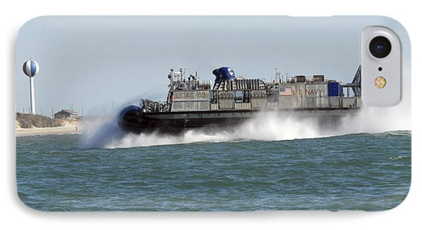 A Landing Craft Air Cushion Prepares Phone Case by Stocktrek Images