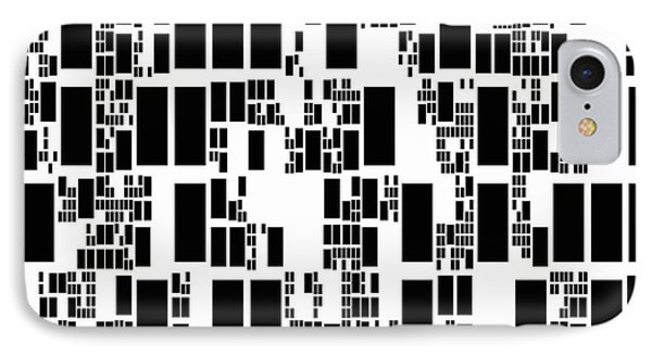 Abstract Computer Artwork Phone Case by Mehau Kulyk