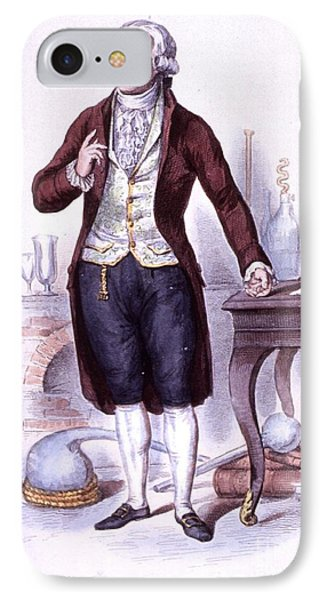 Antoine-laurent Lavoisier, French Phone Case by Science Source