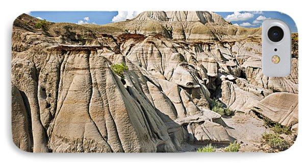 Badlands In Alberta IPhone Case