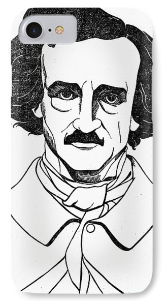 Edgar Allan Poe (1809-1849) Phone Case by Granger