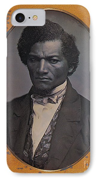 Frederick Douglass, African-american Phone Case by Photo Researchers