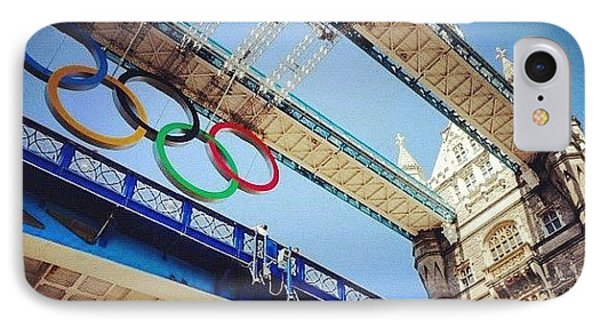 #london2012 #london #olympics IPhone Case by Nerys Williams