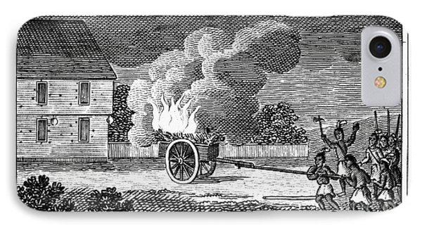 Native American Attack, 1675 IPhone Case