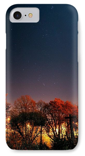Night Sky Phone Case by Laurent Laveder