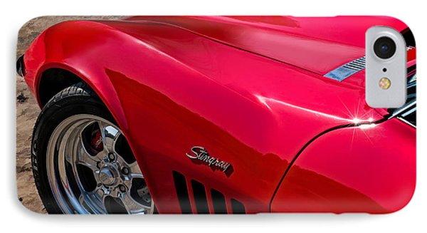 69 Red Detail Phone Case by Douglas Pittman