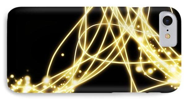 Abstract Lighting Effect  Phone Case by Setsiri Silapasuwanchai
