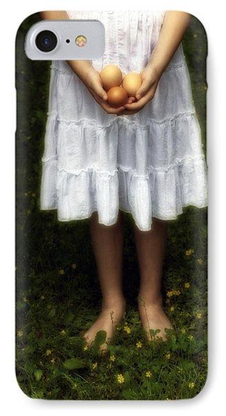 Eggs Phone Case by Joana Kruse