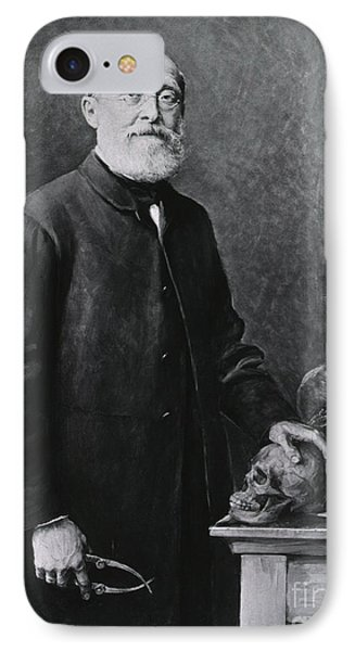 Rudolph Virchow, German Polymath Phone Case by Science Source