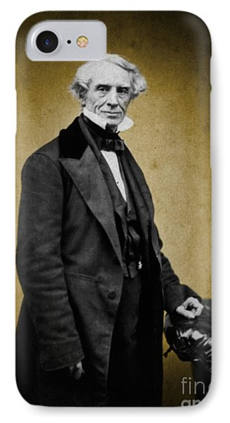 Samuel Morse, American Inventor Phone Case by Science Source