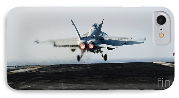 An Fa-18f Super Hornet Launches Phone Case by Stocktrek Images