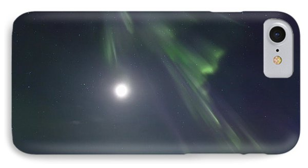 Aurora Borealis Or Northern Lights Phone Case by Robert Postma