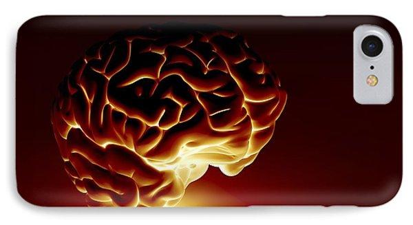Human Brain, Artwork IPhone Case by Pasieka