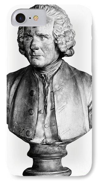Jean Jacques Rousseau Phone Case by Granger