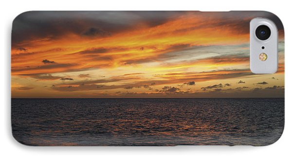 North Shore Sunset Phone Case by Vince Cavataio