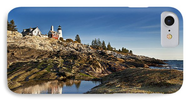 Pemaquid Point Lighthouse Phone Case by John Greim