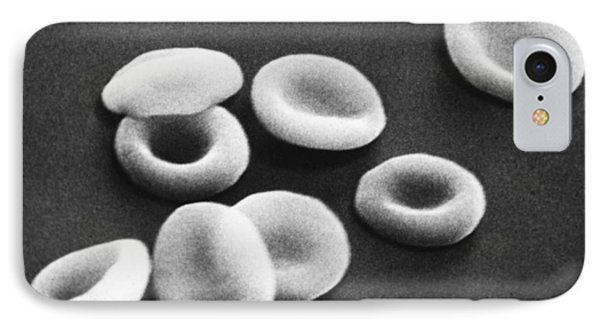 Red Blood Cells, Sem Phone Case by Omikron