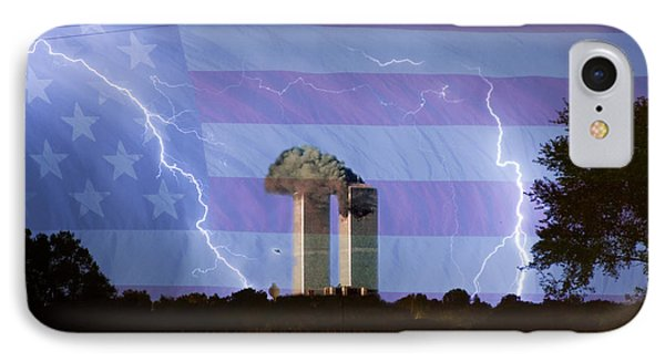 9-11 We Will Never Forget 2011 Phone Case by James BO  Insogna