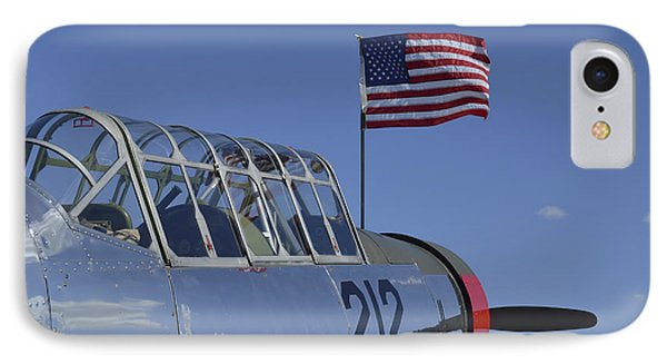 A Bt-13 Valiant Trainer Aircraft Phone Case by Stocktrek Images