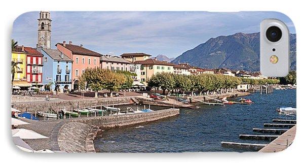 Ascona - Ticino Phone Case by Joana Kruse