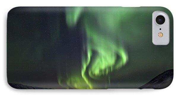 Aurora Borealis Or Northern Lights Phone Case by Robert Postma