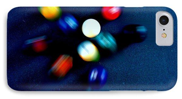 9 Ball Break Phone Case by Nick Kloepping