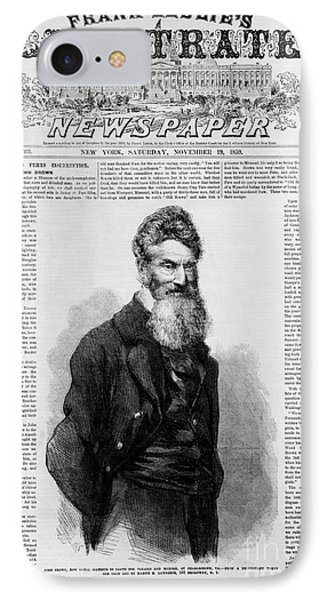 John Brown, American Abolitionist Phone Case by Photo Researchers