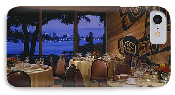 Restaurant Phone Case by Robert Pisano