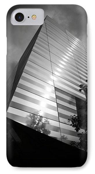 911 Memorial Museum Bw Phone Case by Teresa Mucha