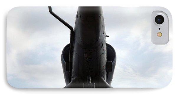 A-4e Skyhawk Plane Underside IPhone Case by Rose Santuci-Sofranko