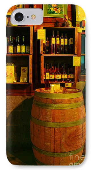 A Barrel And Wine Phone Case by Jeff Swan
