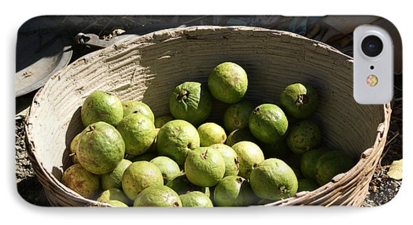 A Basket Full Of Guavas Just Outside Bhopal Phone Case by Ashish Agarwal