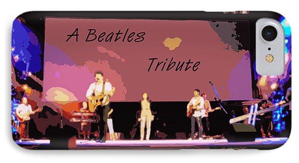 A Beatles Tribute Phone Case by Renee Trenholm