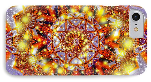 IPhone Case featuring the digital art A Blaze Of Glory by Mario Carini