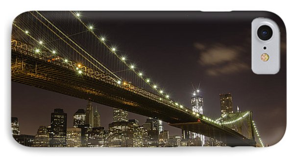 A Brooklyn View Phone Case by Alex Ching