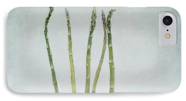 A Bunch Of Asparagus Phone Case by Priska Wettstein