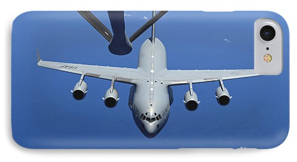 A C-17 Globemaster IIi Approaches Phone Case by Stocktrek Images