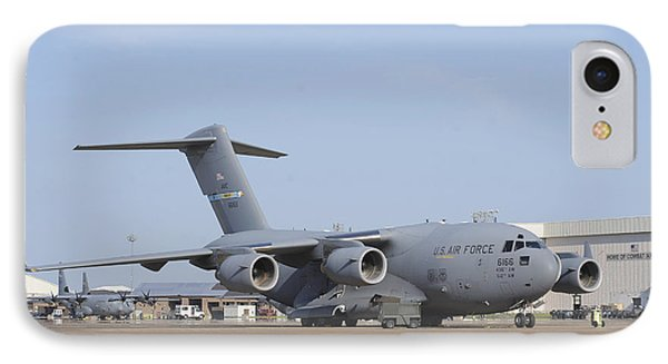 A C-17 Globemaster IIi Parked Phone Case by Stocktrek Images