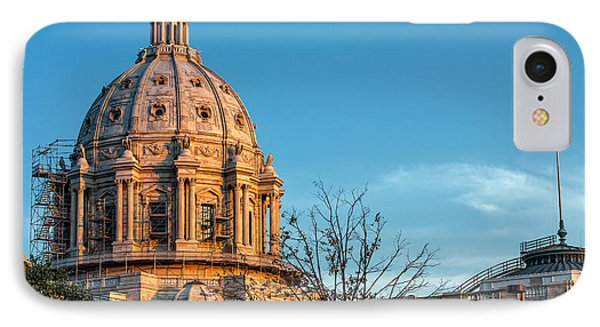 IPhone Case featuring the photograph A Capitol Evening by Tom Gort