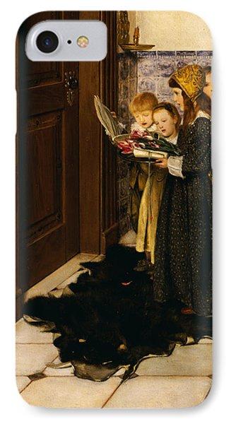 A Carol Phone Case by Laura Theresa Alma-Tadema