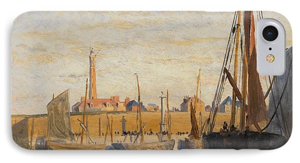 A Continental Harbor IPhone Case