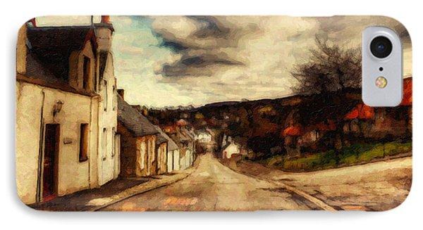 A Cotswold Village IPhone Case by Lianne Schneider