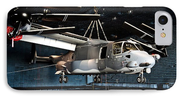 A Cv-22 Osprey Hangs In A Anechoic Phone Case by Stocktrek Images