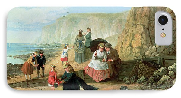 A Day At The Seaside Phone Case by William Scott