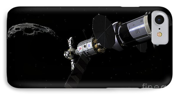 A Deep Space Mission Vehicle Phone Case by Walter Myers