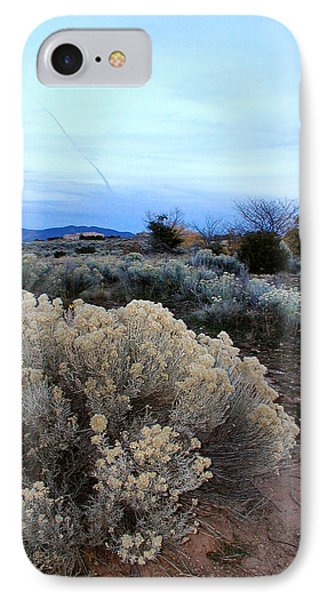 A Desert View After Sunset IPhone Case by Kathleen Grace