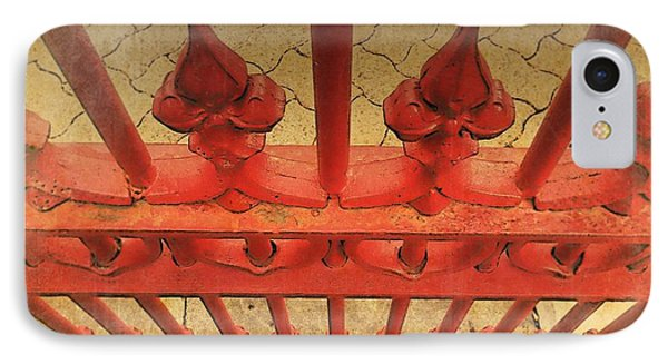 A Different Perspective On An Iron Fence IPhone Case