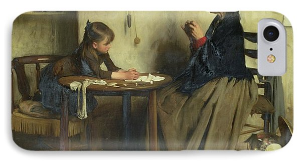 A Difficulty IPhone Case by Arthur Hacker