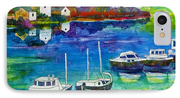 A Fishing Village IPhone Case